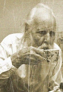 дед с чашкой