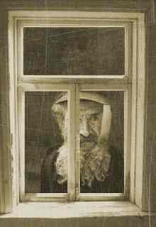 дед в окне