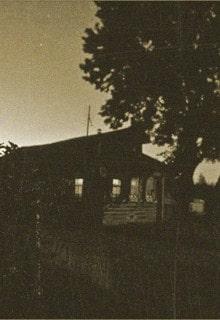 деревенский дом ночью