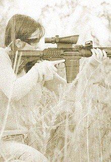 девушка-снайпер