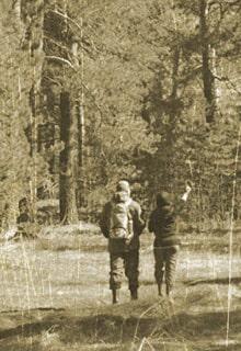 двое в лесу