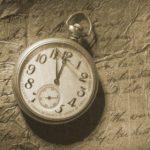 часы на пергаменте