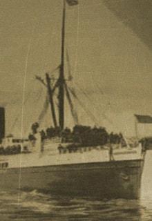 корабль-призрак Оранг Медан