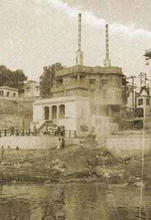 крематорий на реке Ганг