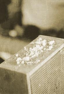 соль на радиоприёмнике
