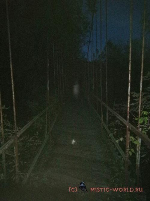 Вербовский мост вечером