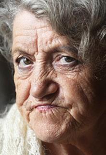 злобная бабуля